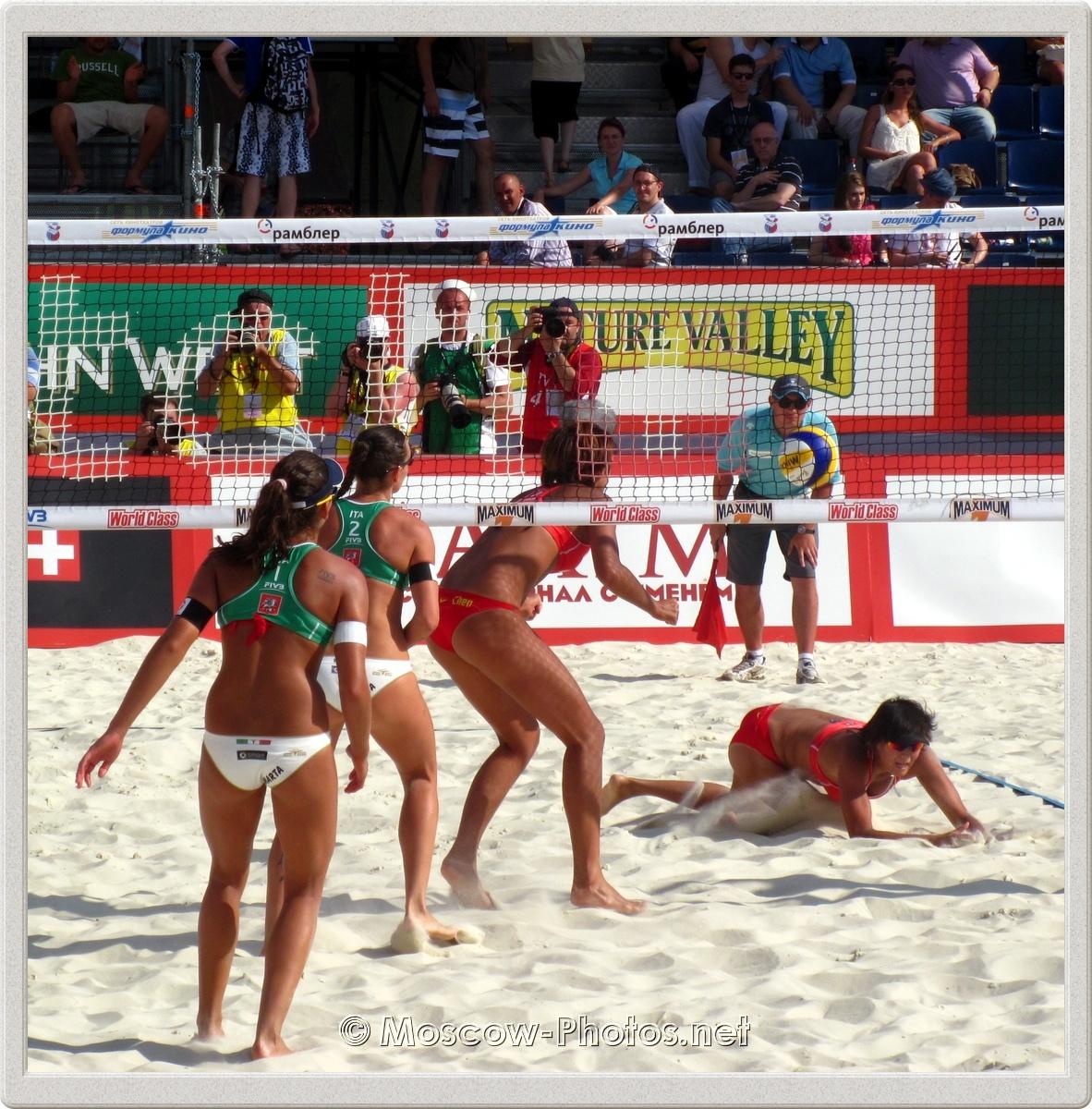 Italian Team vs. Chinese Team