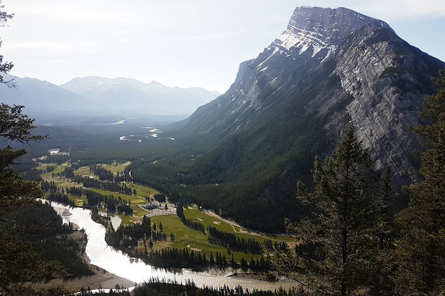 Mount Rundle from the Tunnel Mountain