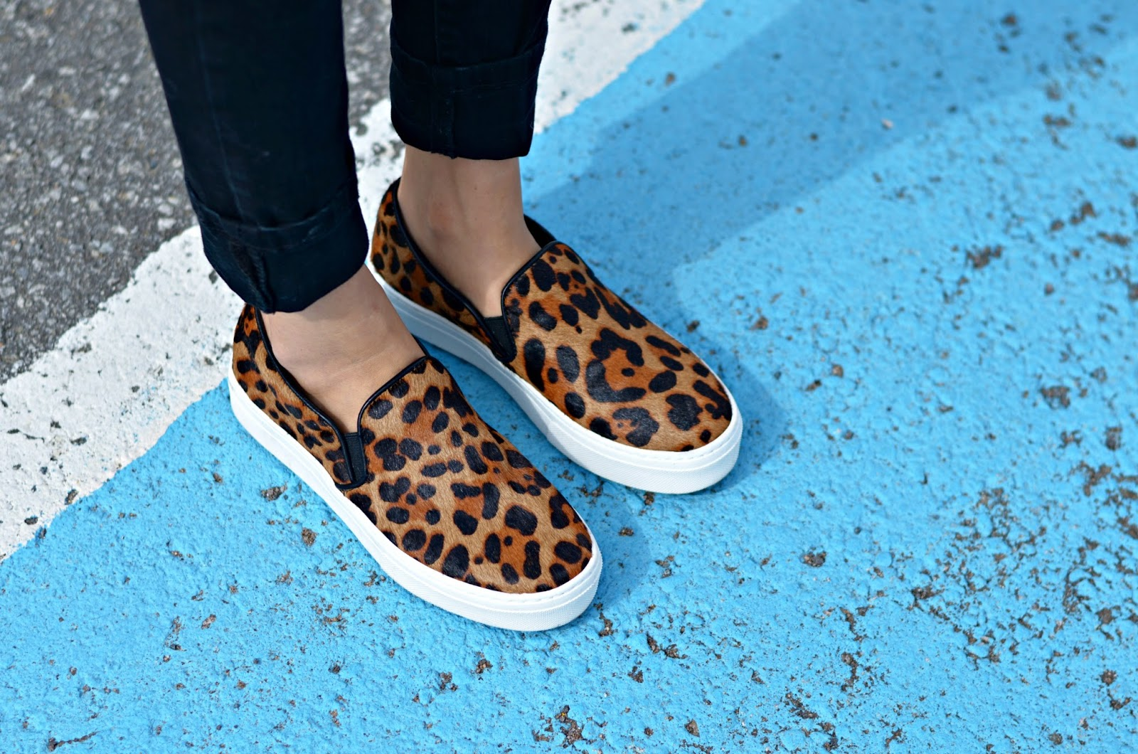 13cde2639bd9 The minute, no wait, the second I saw these slip-on leopard shoes on the  Aldo website, it was love at first sight. More like an obsession at first  sight.