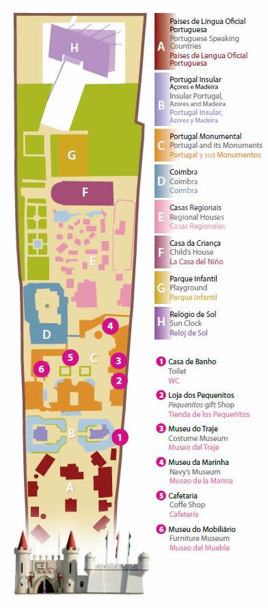 portugal dos pequeninos mapa dkriativo | Dulce Soares Lima: Mapa Portugal dos Pequenitos  portugal dos pequeninos mapa