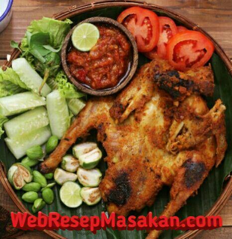 Bekakak ayam bakar, Resep Bekakak Ayam bakar,