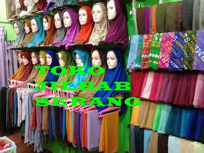 Toko Jilbab di Serang