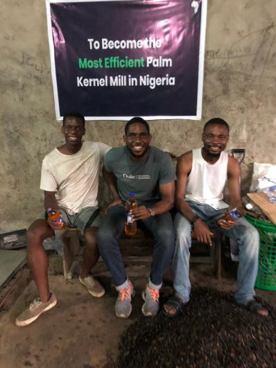 Nigerian Graduates Start Palm Kernel Business After Returning From US (Photos)