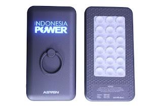 Terbaru dan Pertama!!! Powerbank Promosi Murah dengan backlight LED