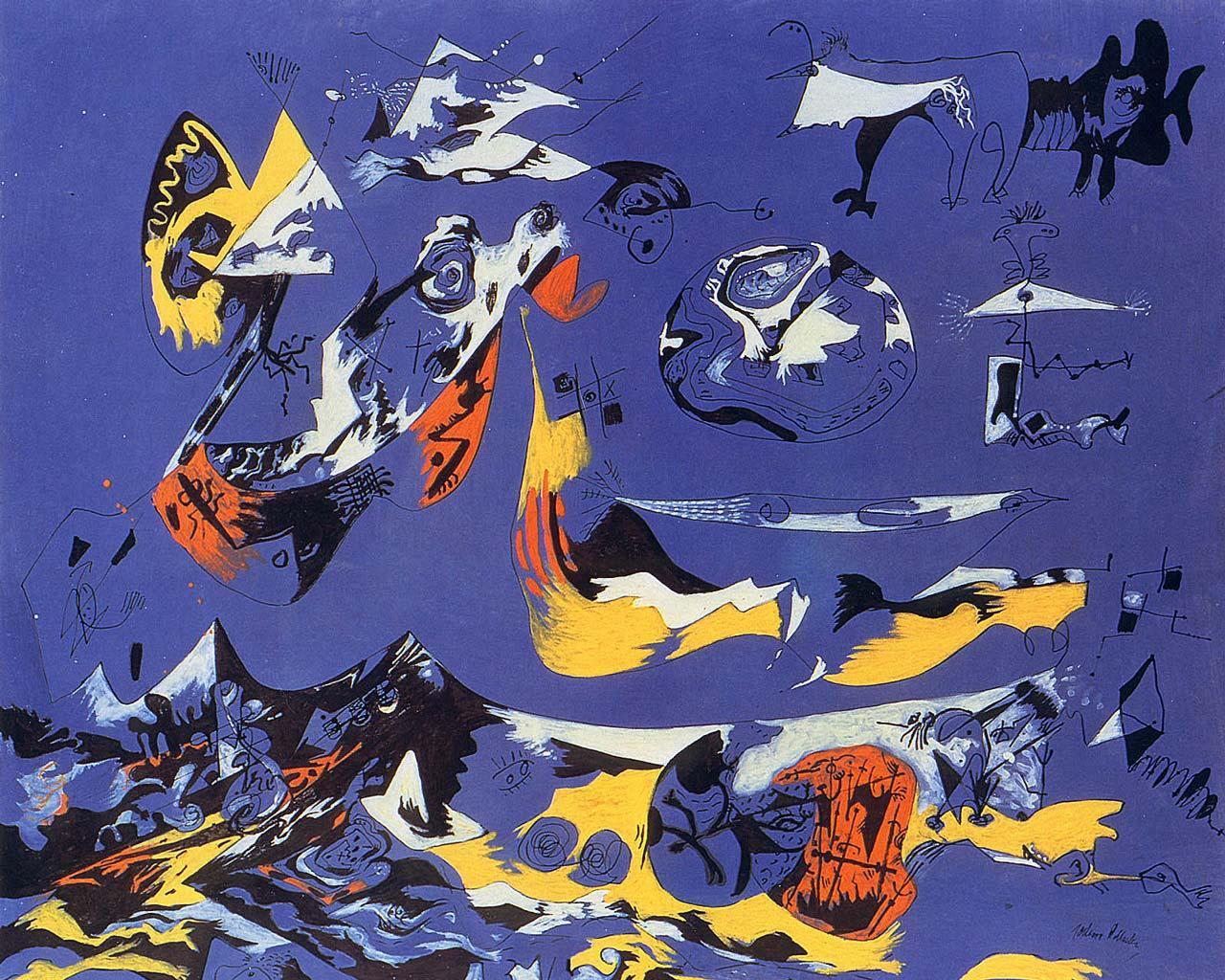 Jackson Pollock  Portrait and a Dream 1953  Artsy