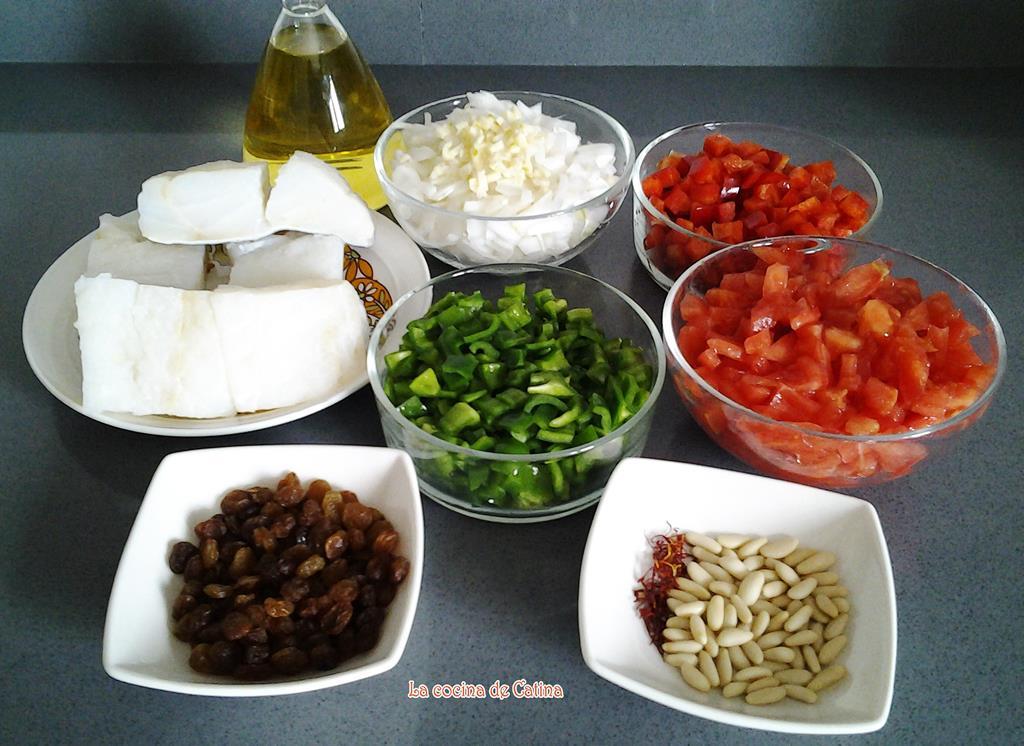 La cocina de catina bacalao a la barcelonina for Cocina 5 ingredientes jamie