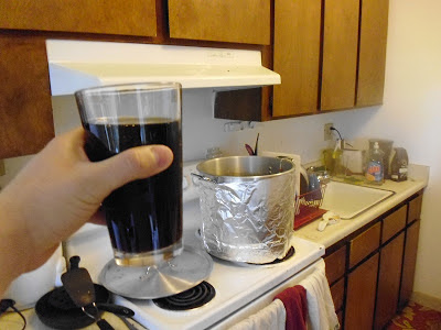 Homebrew while you homebrew