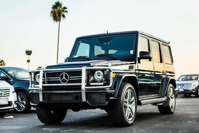 Mercedes G-Wagon Luxury Car Rental