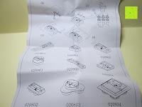 Anleitung: JEKING 3-er Würfel Acryl Warmweiße LED Deckenlampe (2700-3200k) für Schlafzimmer&Esszimmer Aluminium Leuchtmittel 15W / CE Zertifizierung / 37.1 x 11.4 x 15.5 cm / 230V AC / IP 20 [Energieklasse A++] [Energieklasse A++]