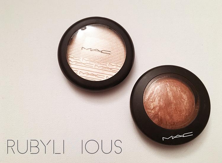MAC, highlighter, bronzer