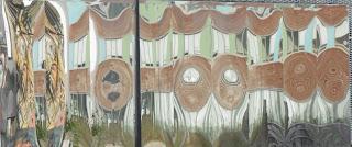 Reflets de murs tagués, Bordeaux, malooka