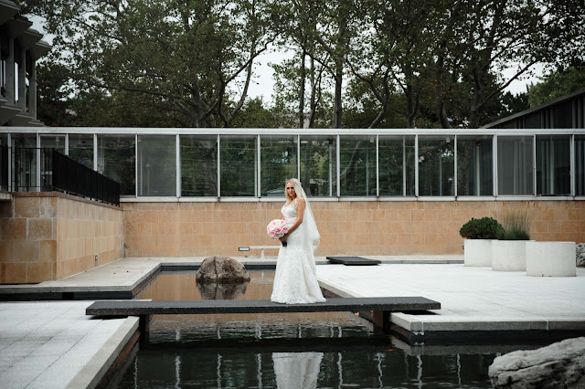 bride at wayne state McGregor Memorial Conference Center