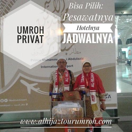Paket Umroh Private Murah Bisa Pilih Pesawat Hotel & Jadwal