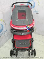Kereta Bayi Pliko PK368 Bebesitos 3-Layer Kanopi Red