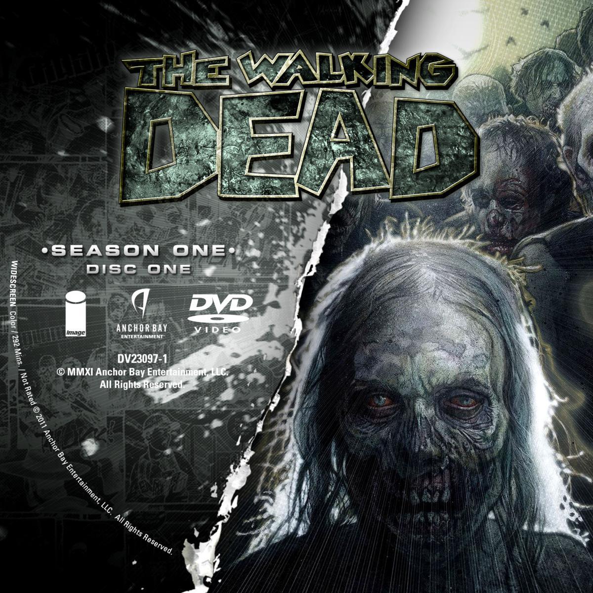 Label DVD The Walking Dead Primeira Temporada