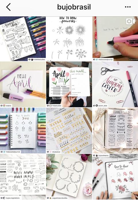 Os 6 melhores perfis do instagram sobre Bullet Journal