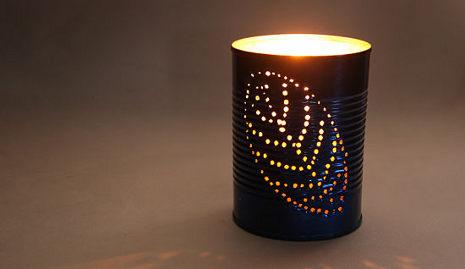 Cara Membuat Lampu Hias Dari Kaleng Bekas  Ragam