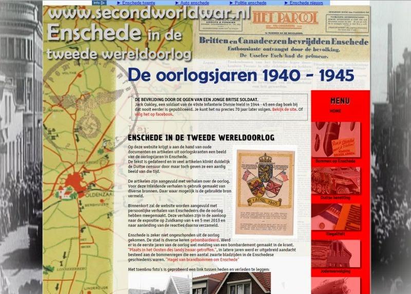 Transisalania En Varia Mooie Website Over Enschede In De Oorlog In