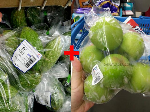 jus epal peria katak naikkan hb