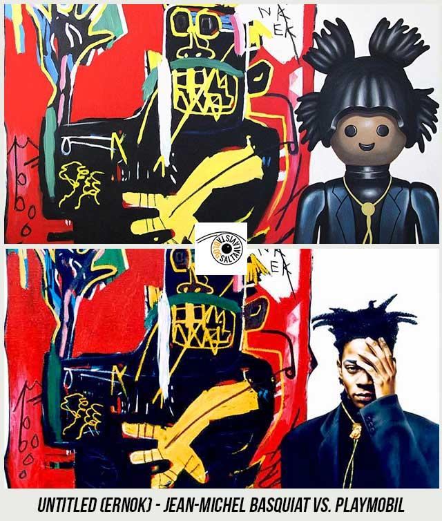 Cuadro-Untitled-Ernok-de-Jean-Michel-Basquiat-Hecho-con-Playmobil