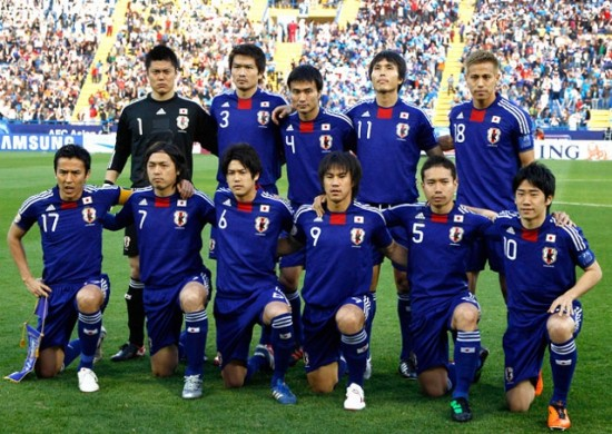 Japan players list for FIFA 2018