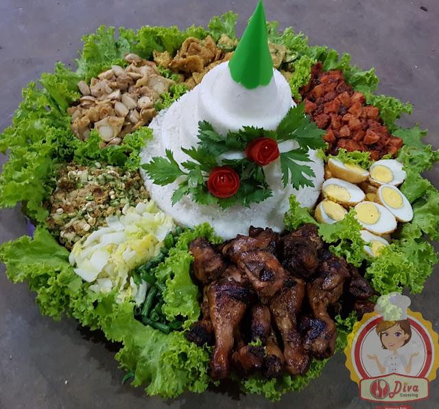 nasi tumpeng diva catering malang