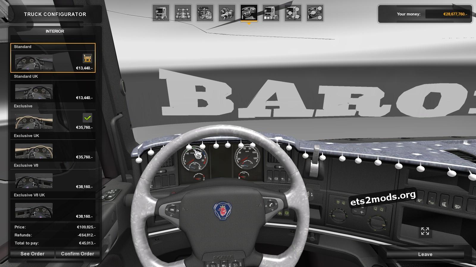 Truck - Scania Baron v 1.0