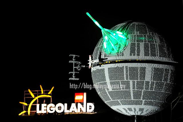 Death Star Legoland Malaysia