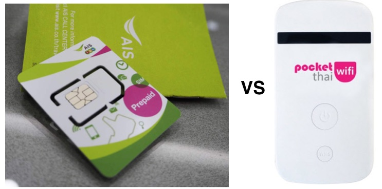 SIM Card vs Pocket WiFi: Which to use in Thailand? - Travel