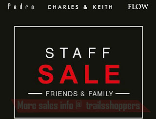 Charles Keith Pedro Flow Family & Friends Sale