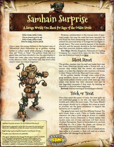 samhain surprise halloween one sheet