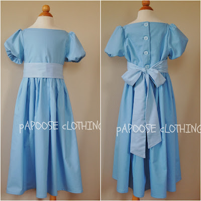 Papoose Clothing  Adult Wendy Darling Inspired Nightgown 3b825ed37