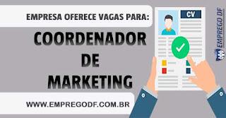 Coordenador de Marketing