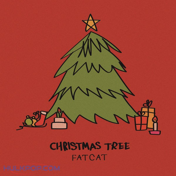 Fat Cat – Christmas Tree – Single