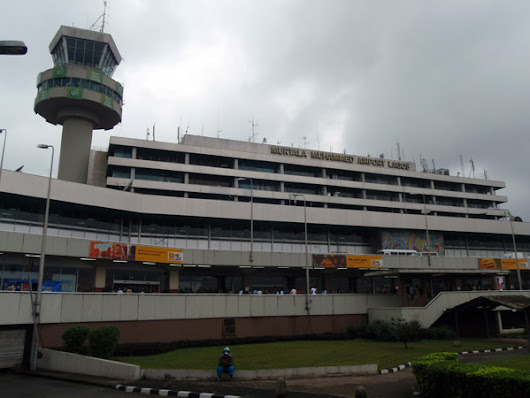 Panic Over Fire Incident At Lagos Airport