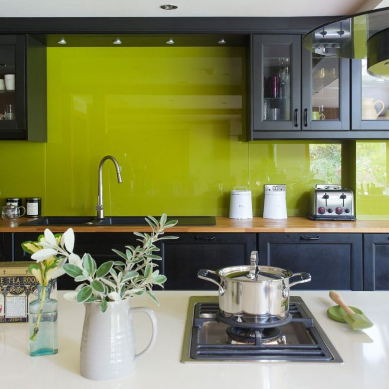 Beautiful Green Kitchen Cabinet Ideas