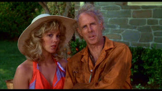 Wendy Schaal and Bruce Dern