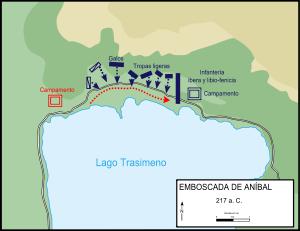Batalla Lago Trasimeno