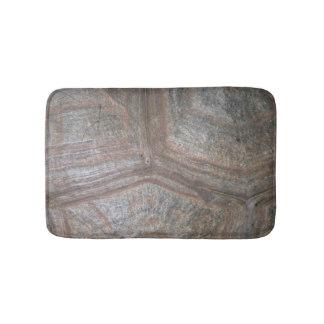 Tortoise shell bath mat