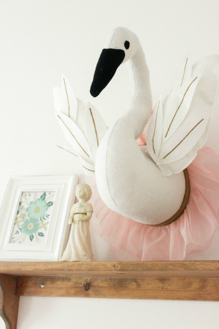 swan head wall mount