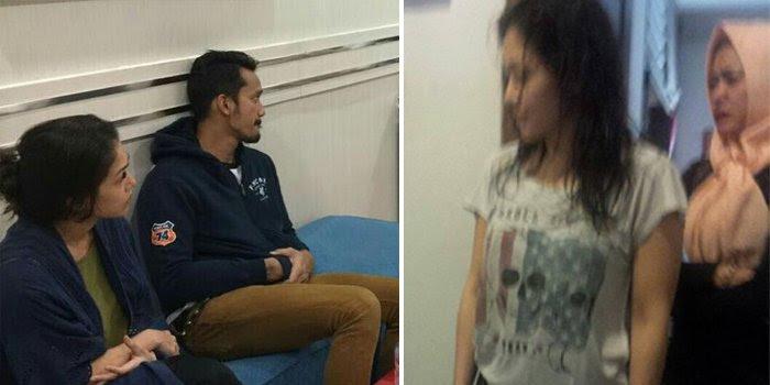Mieke Amalia dan Tora Sudiro di Tahan Satuan Narkoba Polres Jaksel