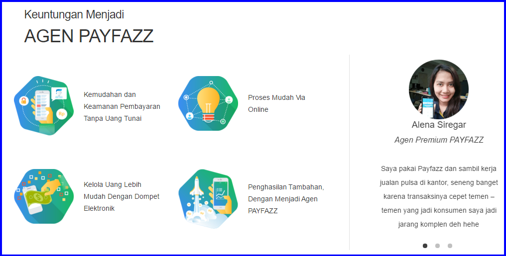 Keuntungan Agen Premium Payfazz dan Agen Payfazz non Premium