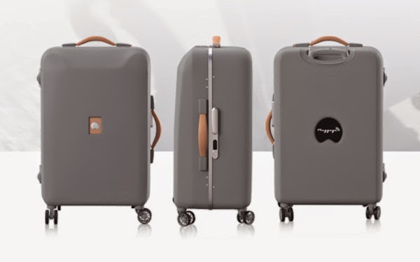 delsey luggage, delsey, Pluggage, Delsey Pluggage, connected suitcase, new tech, Luggage, travel, Delsey suitcase, Pluggage suitcase, Ultra connected,
