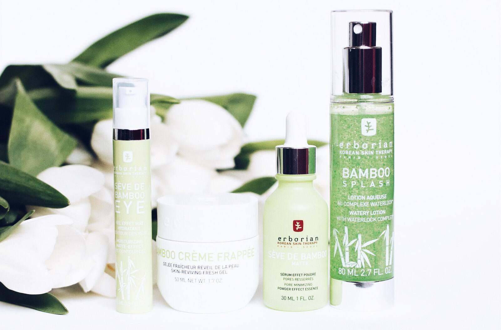 erborian bamboo soins visage hydratants matifiants avis test