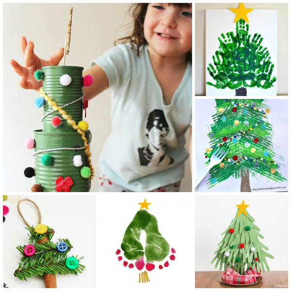Christmas tree crafts and activities for kids.  Tons of ideas great for all ages! #christmastreeideas #christmascrafts #christmastree #christmastreecraftsforkids #christmastreeart #christmastreeactivitiesforpreschool #growingajeweledrose #activitiesforkids