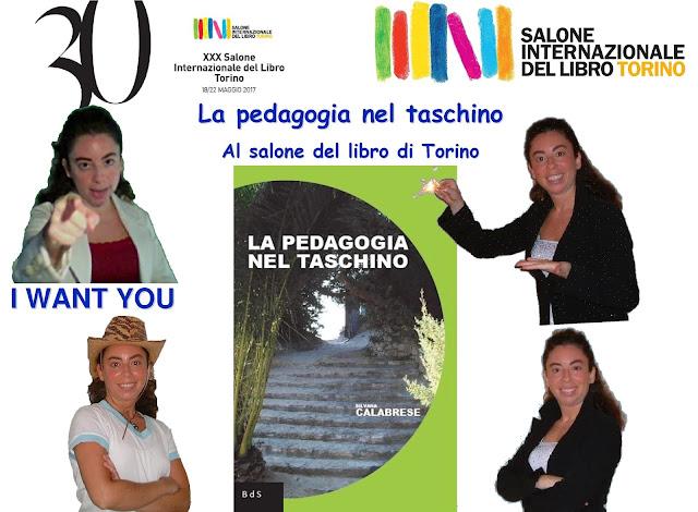Coming Soon La pedagogia nel taschino al Salone libro Torino Silvana Calabrese