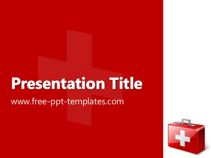 first aid ppt template, Powerpoint templates