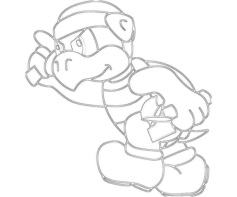 Hammer Bro Character   Mario