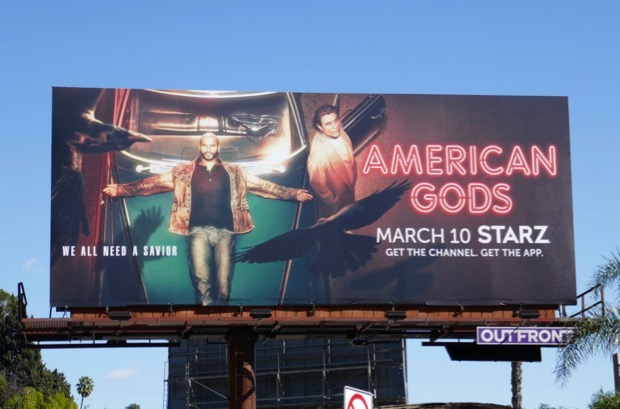 American Gods season 2 billboard