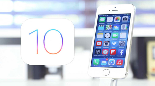 iOS 10 with iPhone